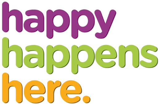 Happy Happens Here
